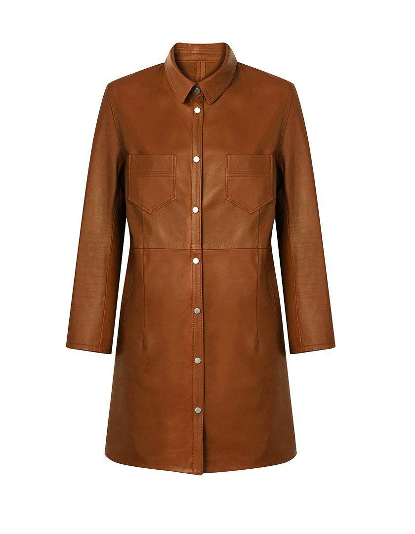 Camisa Napa Jane Cognac