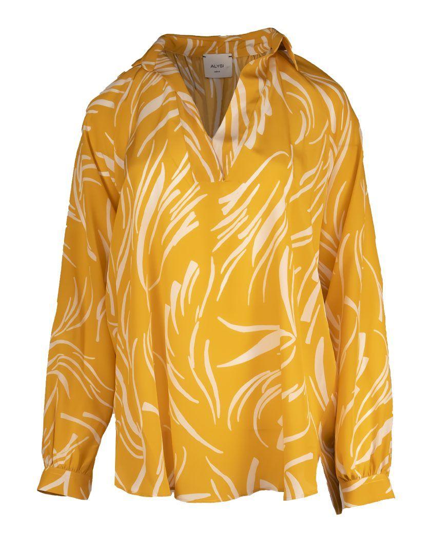 Alysi-12806-Camisa-Feather-Print-1