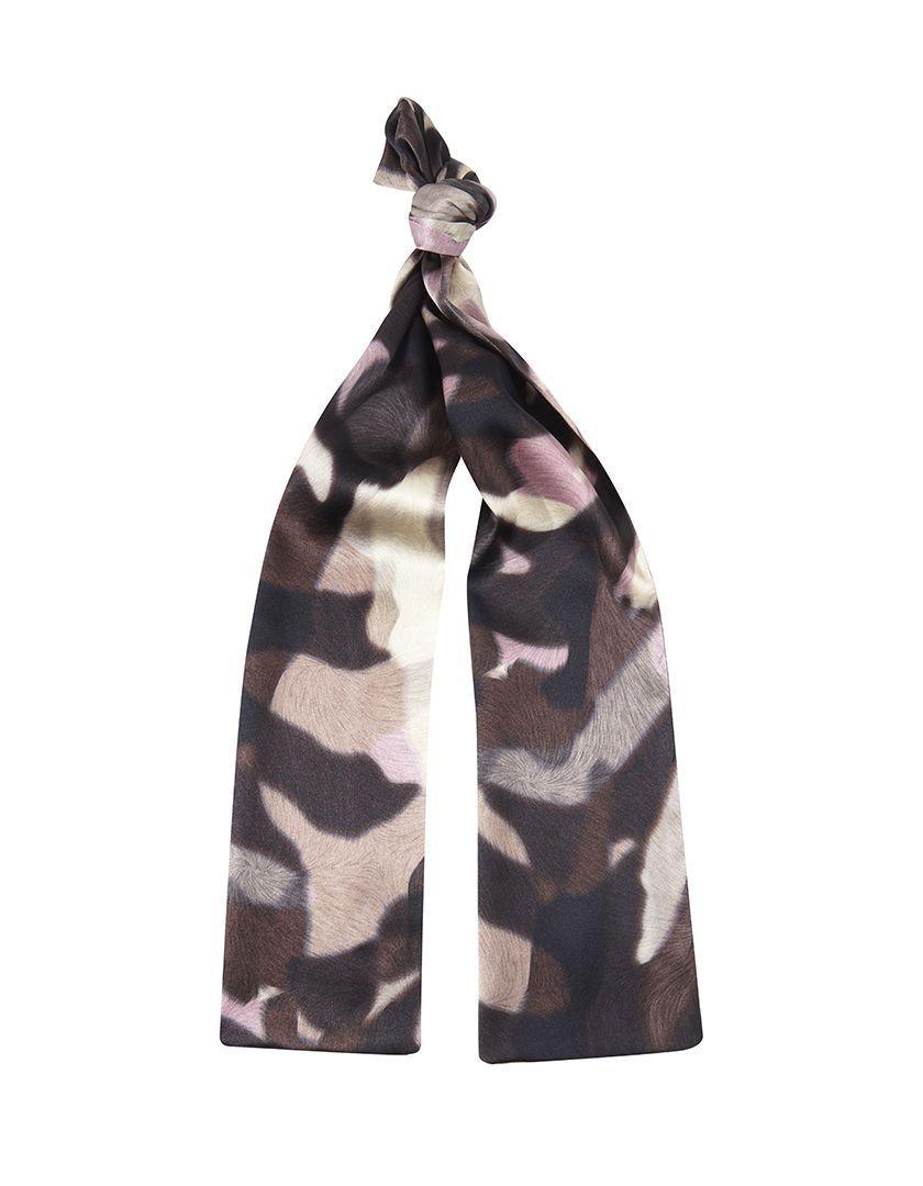 Foulard Camouflage Pink