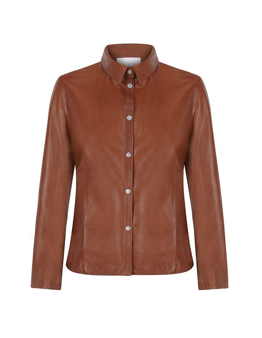 Camisa Napa Brit Cognac-11