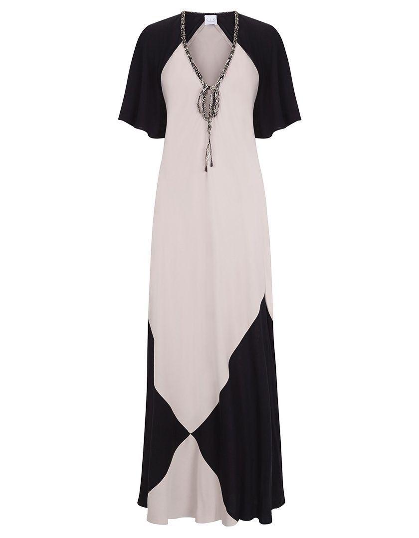 Vestido Marina Negro-Maquillaje-1