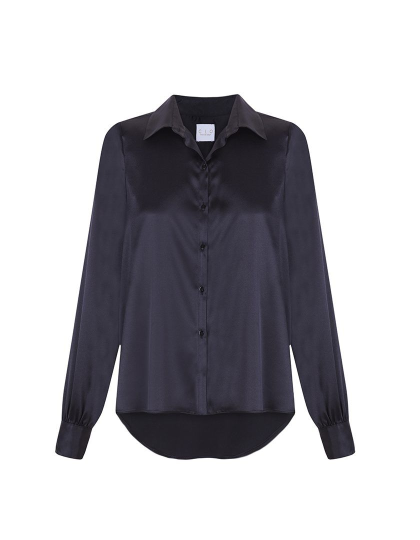 Camisa Diane Corta Negra-1
