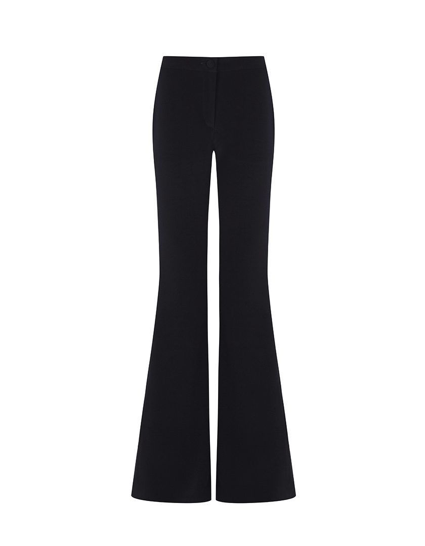 Pantalon Bianca Triacetato Negro-1